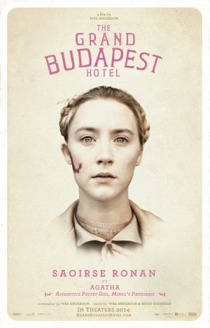 THE GRAND BUDAPEST HOTEL – Saoirse Ronan – US Imported Movie Wall Poster Print – 30CM X 43CM Brand New Agatha