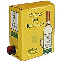 Bag in Box Vino BLANCO Extremeño de Vegas del Rivilla 1 CAJA DE 5 LITROS