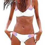 GNYD-Traje De BañO Mujer Una Pieza Bikinis Push Up Conjunto De Ropa De Playa De Dos Piezas con Conjunto De