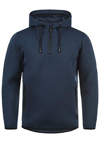 Blend Dooby Herren Kapuzenpullover Hoodie Pullover Mit Kapuze Und Reißverschluss, Größe:L, Farbe:Navy (70230) -