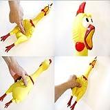 TheEarl® Jouet en forme de poulet avec bruit de couinement