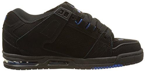 Globe Sabre, Chaussures de Skateboard homme Noir (Black/Black/Blue)