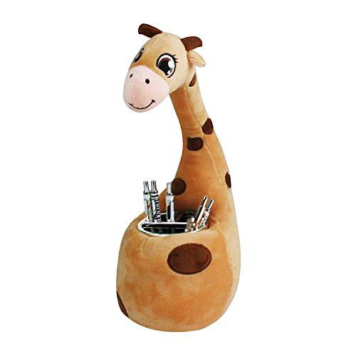 Xinfang carino supporto per penna matita contenitore scrivania ordinata - giraffe