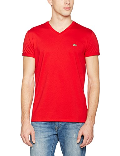 Lacoste, T-Shirt Uomo Rosso (Red)
