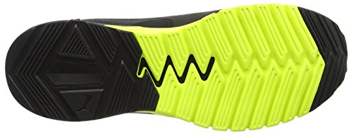Puma Ignite Dual, Chaussures de Running Compétition Homme Noir (Puma Black-safety Yellow 07)
