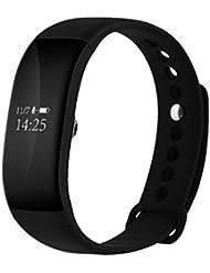Xiang V66 Reloj de pulsera inteligente Bluetooth 4.0 Smartband Sensor de ritmo cardíaco Monitor de sueño Pulsera inteligente IP68 Impermeable