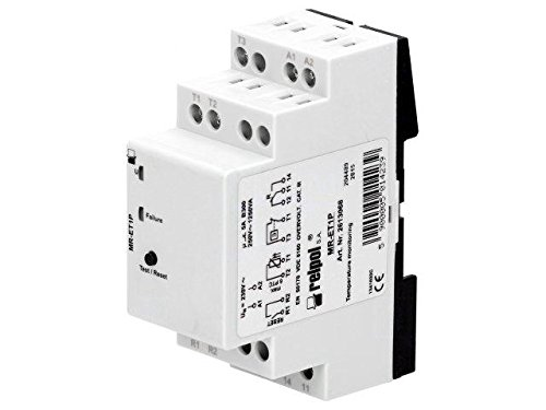 MR-ET1P Module monitor relay motor temperature 230VAC Mounting DIN RELPOL Monitor Relay