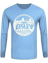 T-Shirt à manches longues MOS Eisley Cantina Homme Bleu