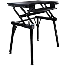 Lieblich Höhenverstellbar Sitz Steh Schreibtisch Computertisch   Schreibtischaufsatz  Steharbeitsplatz Standtisch  Für Einen Monitor Steharbeitsplatz