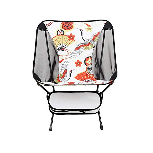 Liegestuhl im Freien Freizeit Liegestuhl geeignet zum Wandern, Picknick, Angeln Mondstuhl