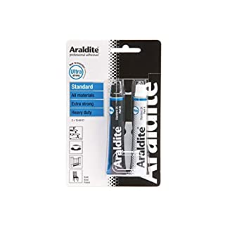 Araldite Ultra Strong Adhesive Glue Blue Standard 2 X 15ml Tubes