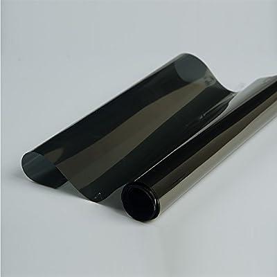[Hoho] 3layers Colle film solaire teinté pour vitres de voitures Vinyle Tint Effet miroir 152cmx50cm