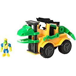 Learning Resources DINO Construction Company El Velociraptor Forklift Juego Set