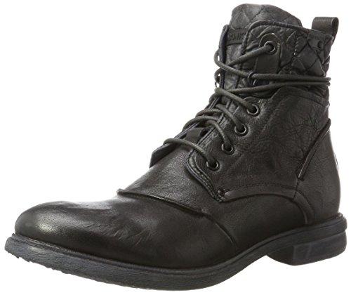 BUNKER Herren Klassische Stiefel, Schwarz (Carbon), 46 EU
