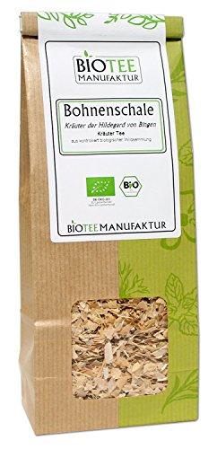 Bohnenschalen-Tee -Bio, Kräutertee lose (1 x 100g)