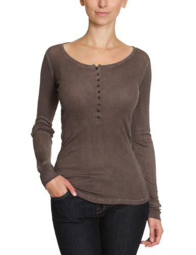 Blaumax Paris - T-shirt - Manches longues - Femme Marron (610Dusty Brown)