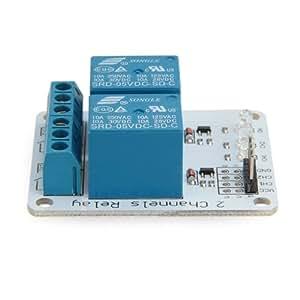 2 Kanal 5V Relais Modul PCB Relay Module für Arduino DSP PIC ARM AVR Gefragt