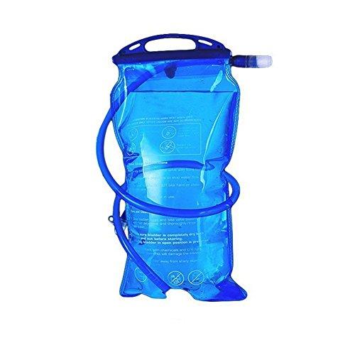 odowalker Hydration Pack Leichte Taktische Rucksack mit 2L Trinkblase für Wandern, Radfahren, Radfahren, Laufen, Wandern und Klettern Bladder Only