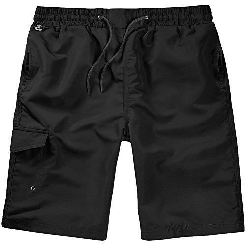 Brandit Herren Short, Schwarz (Black 2), XX-Large (Herstellergröße: XXL/3XL)