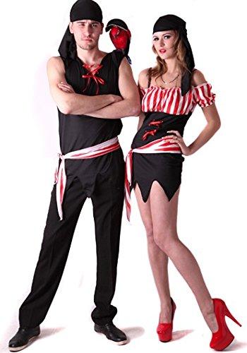 Piraten - Kostüm für Paare (Piraten Kostüme Paare)