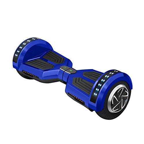 Freeman-F12-Patinete-electrico-de-250W-con-bateria-Samsung-con-certificado-UL2272-altavoz-de-3W-ruedas-de-8-color-Azul