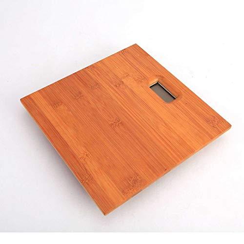 Shisky Elektronische Waage des Holzkörpers Umweltschutz schwere Waagen Haushaltswaage Nachtsichtschirm Maximales Gewicht 180kg