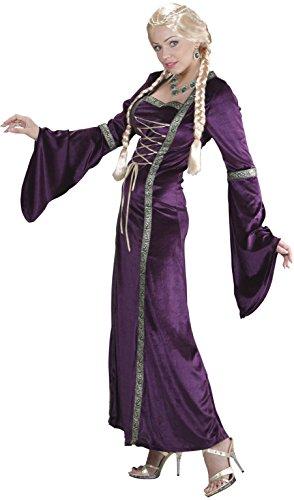 WIDMANN 01671 - Costume da Principessa Medievale, in Taglia S