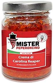 Carolina Reaper - Crema - Il peperoncino più piccante al mondo (90gr). Piccantezza estrema, dosare con molta c