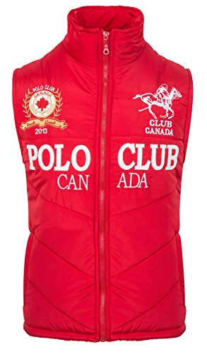 Rock Creek Herren RC-2046 Polo Club Weste Rot