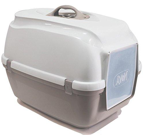 BPS (R) Bandeja Sanitaria Plástica Cerrada Gran Tamaño Color Gris 65* 40* 40,5cm BPS-4162-G