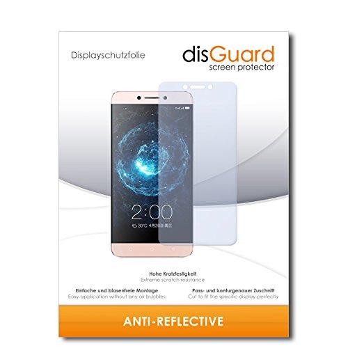 disGuard® Bildschirmschutzfolie [Anti-Reflex] kompatibel mit LeEco Le 2 Pro [2 Stück] Entspiegelnd, Matt, Antireflektierend, Extrem Kratzfest, Anti-Fingerabdruck - Panzerglas Folie, Schutzfolie