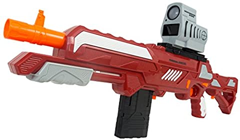 BuzzBee Air Warriors PrecisePro Thermal Hunter - with heat-seeking IR-Scope and 25 Nerf compatible Precision Darts