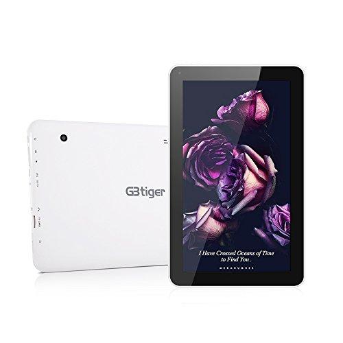 GBtiger-L1008-Tablet-PC-101-Pulgadas-Android-51-Allwinner-A33-Quad-Core-13GHz-1GB-RAM-8GB-ROM-Doble-cmara-Resolucin-HD-de1024-x-600-Color-Negro-EU-Plug