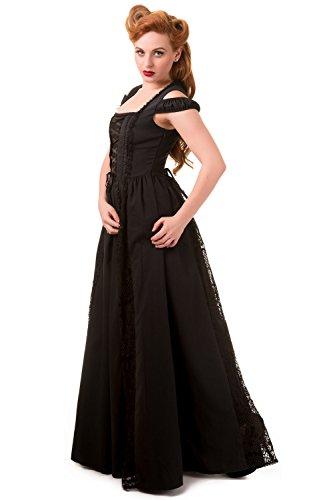 Banned Daysleeper Robe Longue noir Noir