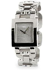 Guess–W90047L1Damen-Armbanduhr 045J699Analog silber Armband Stahl Silber