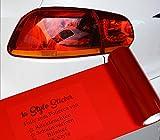 1A Style Sticker Rote Folie für Rückleuchten Folierung, 100cm x 30cm Größe, Premium ✅ Qualität, einfache ✅ Montag, Ideal für VW Golf Polo GTI, Hyundai i30n oder Seat Leon Cupra Ibiza,