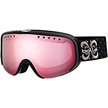 Bollé–Gafas de esquí Scarlett Shiny Black Night vermillon Gun, 21479