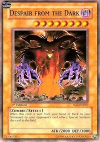 Yu-Gi-Oh! - Despair from the Dark (SD2-EN007) - Structure Deck 2: Zombie Madness - 1st Edition - Common by Yu-Gi-Oh!