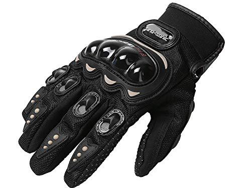 Pro-sonic® Professionelle motorradhandschuhe Motorrad Handschuhe motocross handschuhe Sommer herren (L)