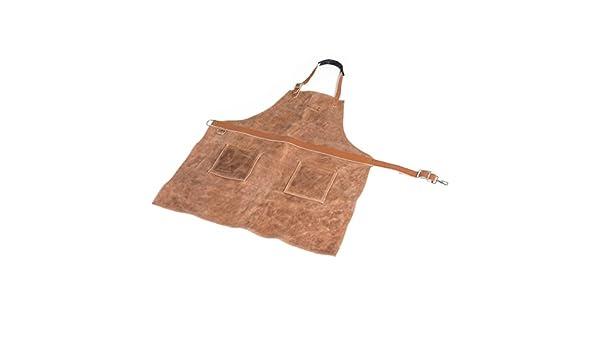 85 x 76 x 1 cm Barbecook Tablier Professionnel Cuir pour Barbecue /épaisseur 1,6 mm