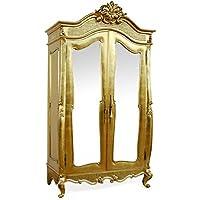 Comparador de precios Casa-Padrino Baroque Wardrobe Gold B 107 x H 229 cm Bedroom Closet - precios baratos