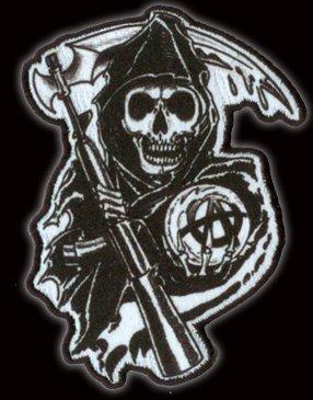Sons Of Anarchy Reaper Écusson brodé