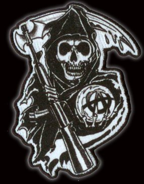 Sons Of Anarchy Reaper Écusson brodé