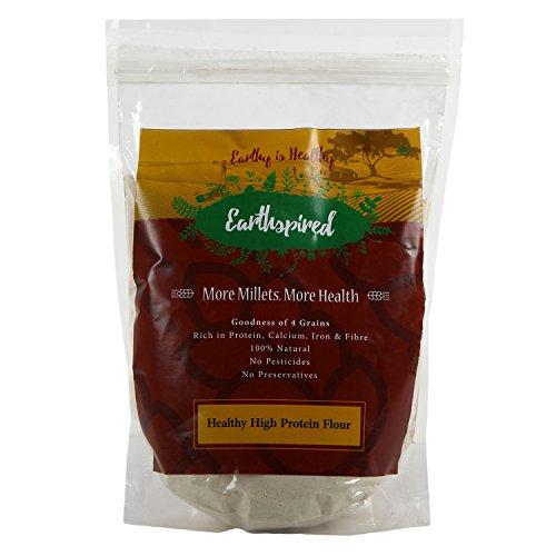 Earthspired Natural Multigrain High Protein Millet Based Flour (1kg)