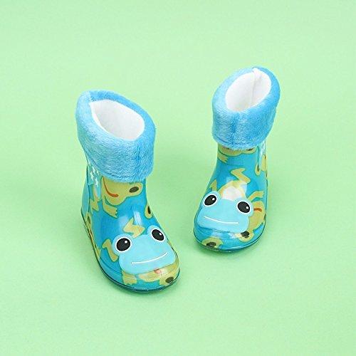 Unisex-KinderPop Kid Gummistiefel Gummistiefel WINWINTOM Wasserdichte Kind Tier Gummi Infant Baby Regen Stiefel Kinder Warme Regen Schuhe