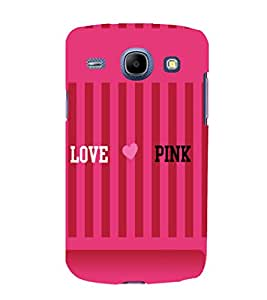 printtech I Love Pink Back Case Cover for Samsung Galaxy A5 / Samsung Galaxy A5 A500F