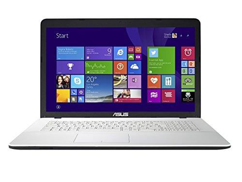 [Vorgängermodell] Asus X751NV-TY002T Laptop 17 Zoll (43,18 cm) HD+ Weiß (Intel Pentium, 4 GB RAM, 1 TB Festplatte, Nvidia GeForce 920MX 2G, Windows 10)