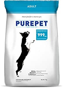 Purepet Chicken and Vegetables Adult Dog Food, 9 kg