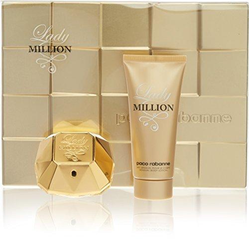 Paco Rabanne P0904019 Lady Million Kit Eau de Parfum + Lotion Corporelle 150 ml