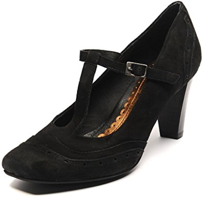 Veronella Taille Chaussures en Daim Noir Cuir Talon Taille Veronella 38/UK 5 SB 608B00OBHKJIGParent 088320